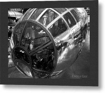 Past Reflections Metal Print by Donna Proctor