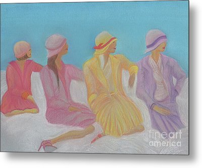 Pastel Hats By Jrr Metal Print by First Star Art
