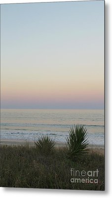 Pastel Moonrise II Metal Print by Dodie Ulery