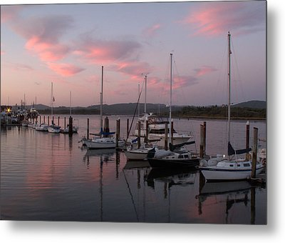 Pastel Morning Metal Print by Suzy Piatt
