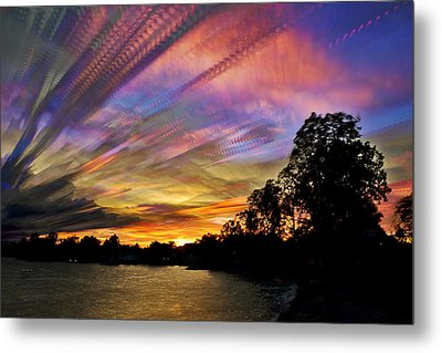 Pastel Pallet Metal Print by Matt Molloy