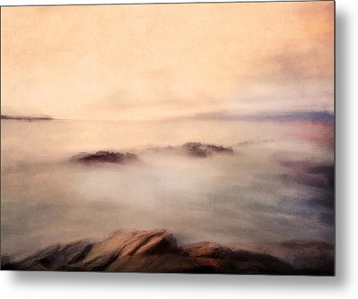 Pastel Soft Waters  Metal Print