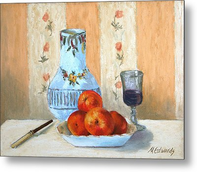 Pastel Study Metal Print by Marna Edwards Flavell