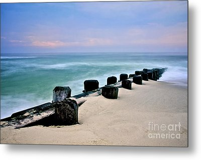 Pastel Waters Metal Print by Mark Miller