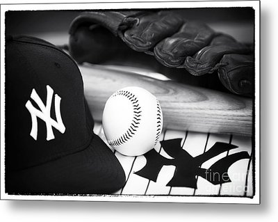 Pastime Essentials Metal Print by John Rizzuto