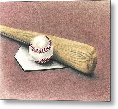 Pastime Metal Print by Troy Levesque