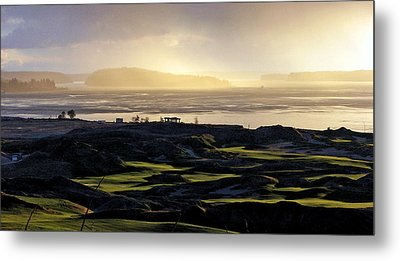 Metal Print featuring the photograph Pastoral Symphony - Chambers Bay Golf Course by Chris Anderson