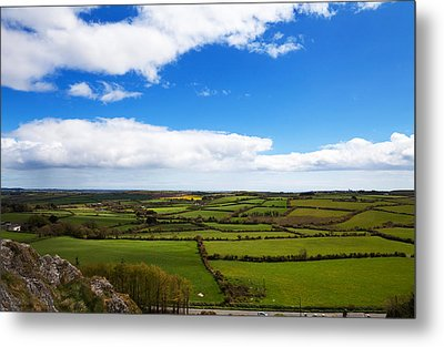 Pastoral View From The Sugar Loaf Rock Metal Print by Panoramic Images