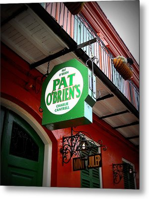 Pat O's Metal Print by Beth Vincent