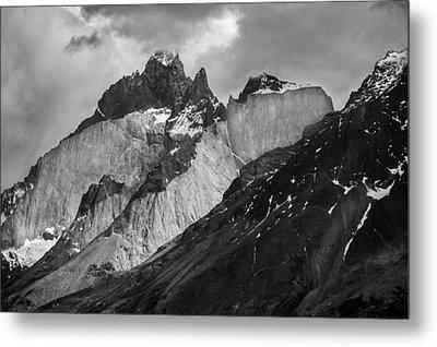 Patagonian Mountains Metal Print