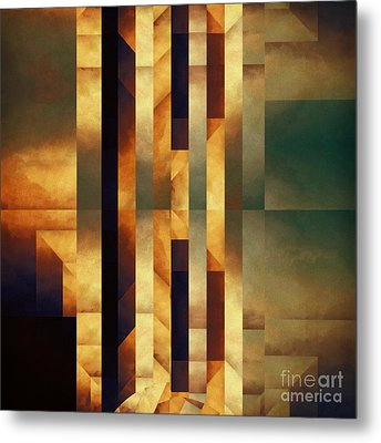 Pataphysical Translation Metal Print by Lonnie Christopher