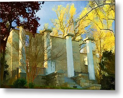 Patapsco Female Institute Metal Print