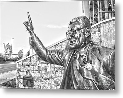 Paterno In Black And White Metal Print