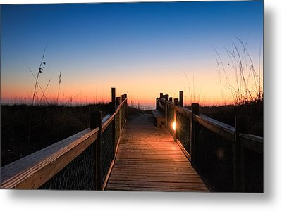 Path To A New Day Metal Print