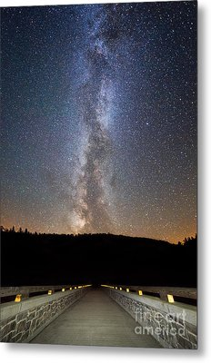 Path To Our Galaxy   Metal Print by Michael Ver Sprill