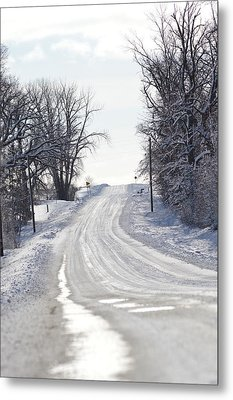 Metal Print featuring the photograph Path To The Unknown by Dacia Doroff