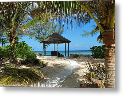 Metal Print featuring the photograph Pathway To Paradise by Bob Sample