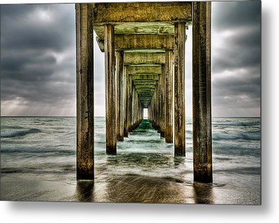 Pathway To The Light Metal Print by Aron Kearney