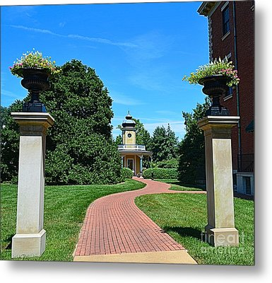 Pathway To The Observatory Metal Print