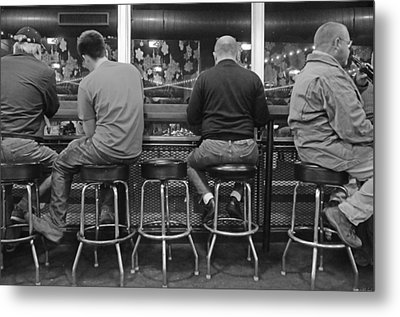 Patiently Waiting Metal Print by Steven Michael