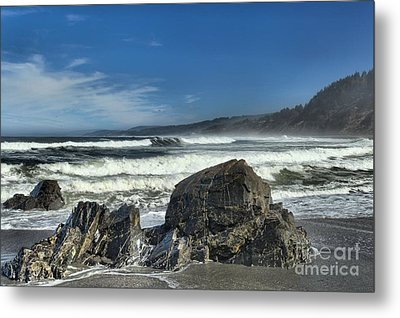 Patrick's Rocks Metal Print by Adam Jewell