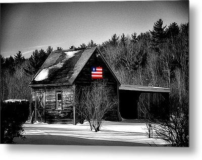 Patriot Pride II Metal Print by Tricia Marchlik