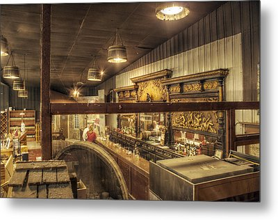 Patrons Of The Tasting Bar Metal Print by Jason Politte