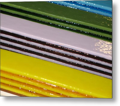Pattern Bars Metal Print by Steven Schramek