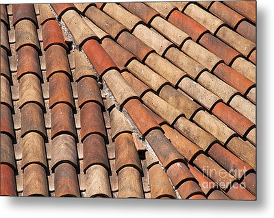 Patterned Tiles Metal Print by Bob Phillips