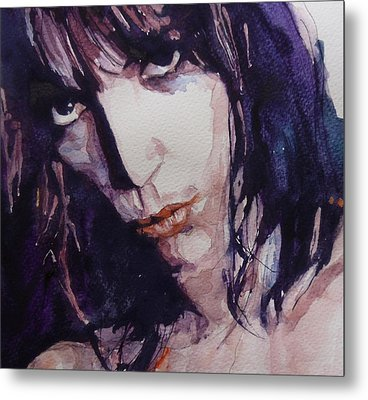 Patti Smith Metal Print