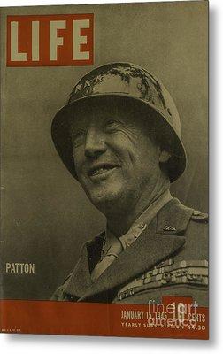 Patton Metal Print
