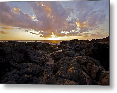 Pau Hana Sunset Metal Print by Brian Governale