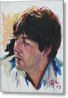 Paul - 1 Metal Print by Tachi Pintor