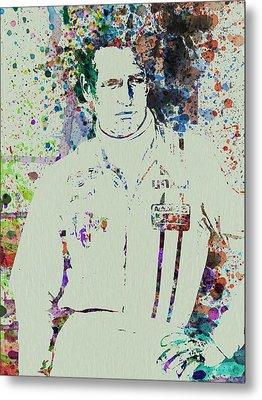Paul Newman  Metal Print by Naxart Studio