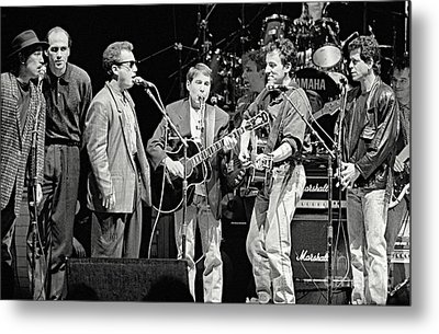 Paul Simon And Friends Metal Print by Chuck Spang