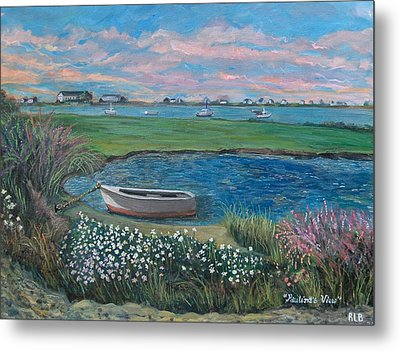 Paulina's View Metal Print by Rita Brown