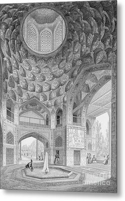 Pavilion Of The Eight Paradises Metal Print by Pascal Xavier Coste