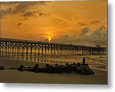 Pawleys Island Sunrise Metal Print by Bill Barber