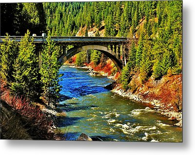 Payette River Scenic Byway Metal Print
