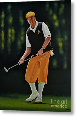 Payne Stewart Metal Print by Paul Meijering