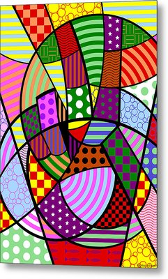 Metal Print featuring the digital art Peace 1 Of 12 by Randall Henrie