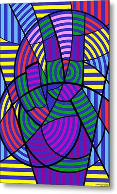 Metal Print featuring the digital art Peace 3 Of 12 by Randall Henrie