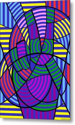 Peace 3 Of 12 Metal Print
