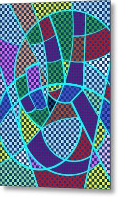 Peace 5 Of 12 Metal Print