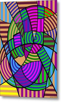 Peace 6 Of 12 Metal Print
