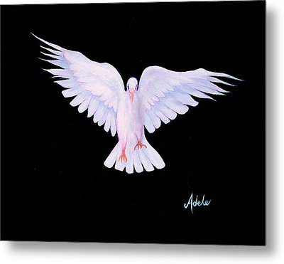Peace Metal Print by Adele Moscaritolo