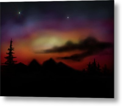 Peace And Calming Metal Print by Ricky Haug