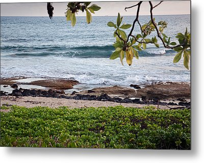 Peace And Harmony At The Beach Metal Print by Susan Stone