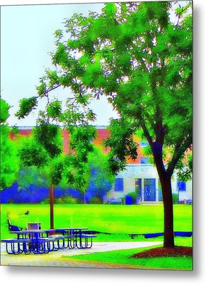 Peace And Lunch Metal Print by Luis A Vera