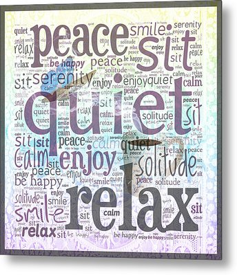 Peace And Quiet 2 Metal Print